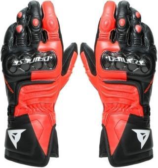 Dainese Carbon 3 Long Gloves Black/Fluo Red/White L pánské L