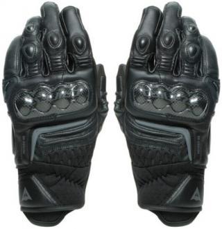 Dainese Carbon 3 Short Černá L Rukavice pánské Black L