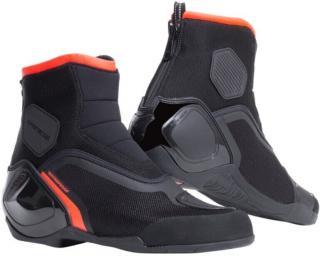 Dainese Dinamica D-WP Shoes Black/Fluo Red 43 pánské 43