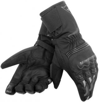 Dainese Tempest Unisex D-Dry Long Gloves Black/Black S pánské S
