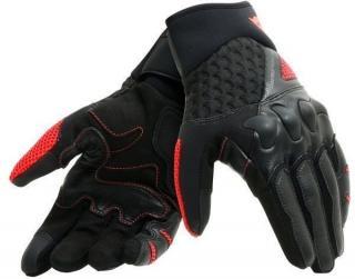 Dainese X-Moto Gloves Black/Fluo Red M pánské M