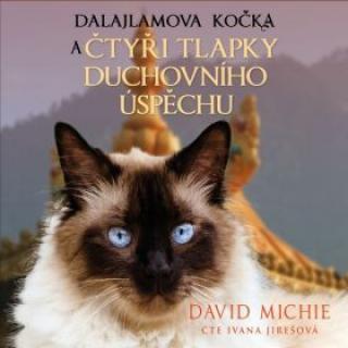 Dalajlamova kočka a čtyři tlapky duchovního úspěchu - David Michie - audiokniha
