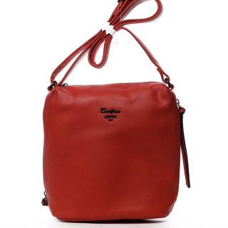 Dámská crossbody kabelka červená - David Jones Haley dámské
