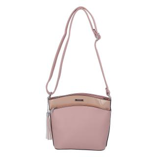 Dámská crossbody kabelka růžová - Silvia Rosa Barbie dámské