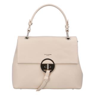 Dámská kabelka do ruky pudrově béžová - David Jones Sawary dámské