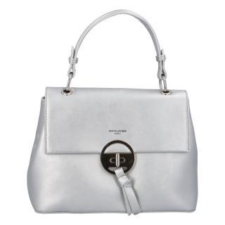 Dámská kabelka do ruky stříbrná - David Jones Sawary dámské