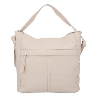 Dámská kabelka přes rameno béžová - DIANA & CO Franzina dámské