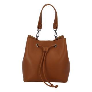 Dámská kožená kabelka světle hnědá - ItalY TianJin hnědá dámské