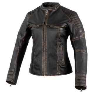 Dámská Kožená Moto Bunda Rebelhorn Hunter Pro Lady Ce Vintage Black XS