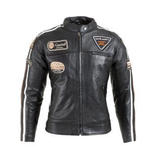 Dámská Kožená Moto Bunda W-Tec Sheawen Lady Black  Černá  Xs XS