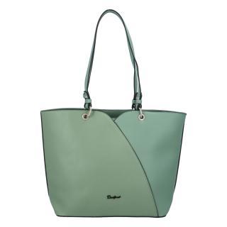 Dámská módní kabelka přes rameno bledě zelená - David Jones Bijanka dámské