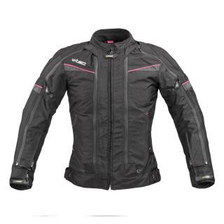 Dámská Moto Bunda W-Tec Progair Lady  Černo-Růžová  Xs XS