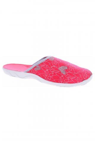 Dámské domácí pantofle Befado 235D160 červená 36