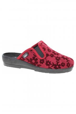 Dámské domácí pantofle Rogallo 3350-008 bordo 42