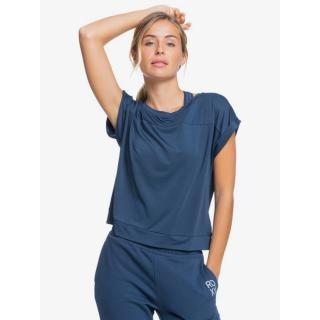Dámské funkční tričko Roxy LETS SHAKE HANDS modrá L