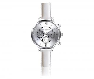 Dámské hodinky Ivy Chronograph Bílá