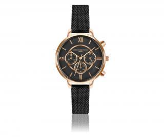 Dámské hodinky Ivy Chronograph Černá