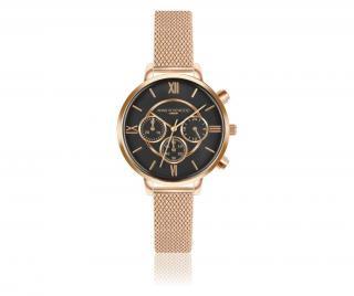 Dámské hodinky Ivy Chronograph Žluta & Zlatavá