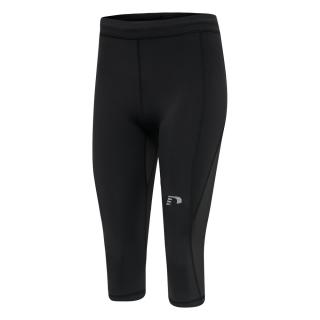Dámské kompresní kalhoty 3/4 Newline Core Knee Tights Women  černá XS