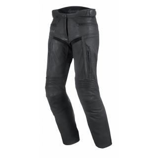 Dámské Kožené Moto Kalhoty Spark Virginia  Černá  Xxs XXS
