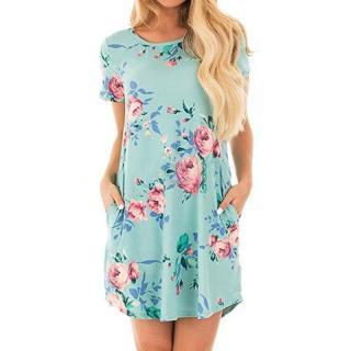 Dámské krátké šaty Amarett - modré