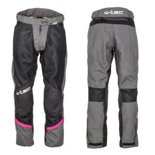 Dámské Letní Moto Kalhoty W-Tec Artemisa  Black-Grey  M M