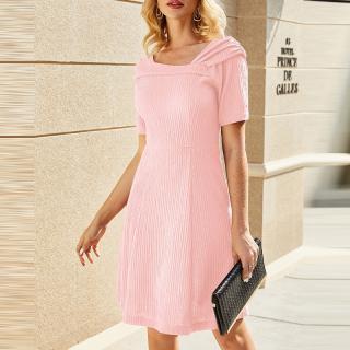 Dámské letní šaty Miryn - růžové