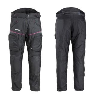 Dámské Moto Kalhoty W-Tec Propant Lady  M  Černo-Růžová M
