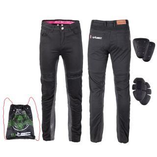 Dámské Moto Kalhoty W-Tec Ragana  Černá  S S