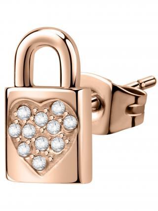 Dámské náušnice na jedno ucho v růžovo-zlaté barvě La Petite Story dámské růžová ONE SIZE