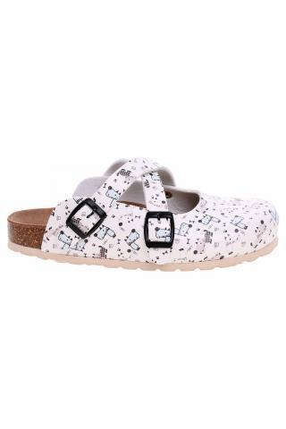 Dámské pantofle Forcare 101015 bílá-multi 39