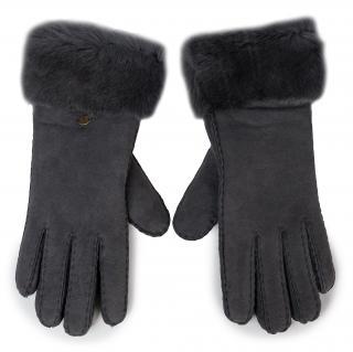 Dámské rukavice EMU AUSTRALIA - Apollo Bay Gloves Dark Grey Šedá M/L