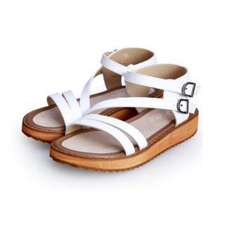 Dámské sandály Sarimba - bílé