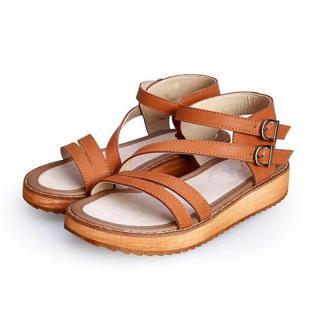 Dámské sandály Sarimba - hnědé