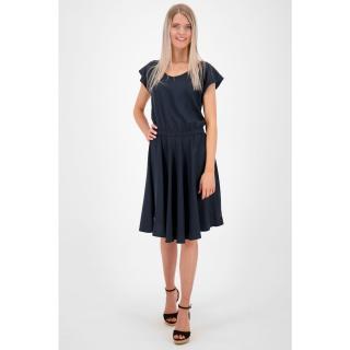 Dámské šaty ALIFE AND KICKIN Isabella dámské černá | bílá S