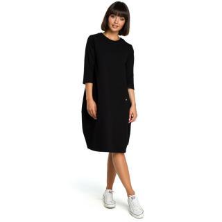 Dámské šaty BeWear B083 dámské Black XL