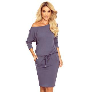 dámské šaty NUMOCO 13 dámské fialová XXL