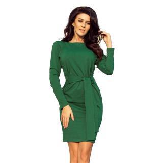 Dámské šaty NUMOCO 209 dámské černá | oranžová | zelená | červená One size