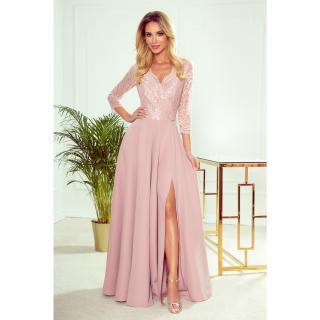 dámské šaty NUMOCO 309-4 dámské růžová XL