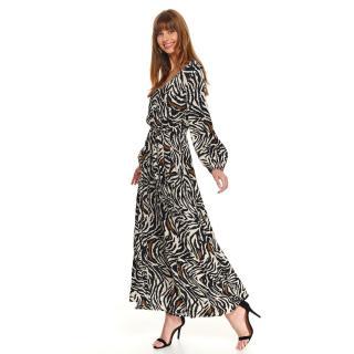 Dámské šaty Top Secret Patterned dámské Black 36