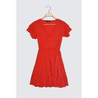 Dámské šaty Trendyol Frill detailed dámské Red S