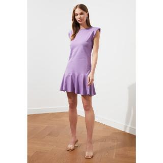 Dámské šaty Trendyol Mini dámské Açık Mor S