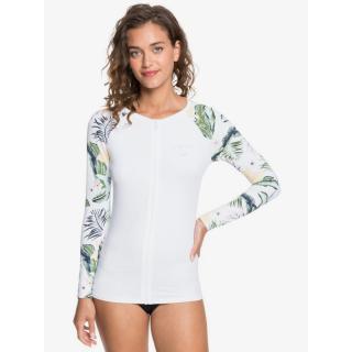 Dámské tričko Roxy BLOOM UPF 50 dámské bílá L