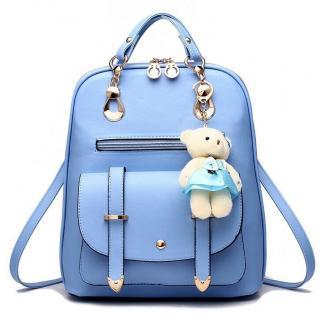Dámský batoh E919 Barva: světle modrá