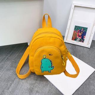 Dámský batoh E938 Barva: tmavě žlutá