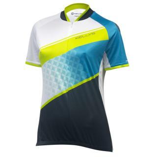 Dámský Cyklistický Dres Kellys Jody 016 - Krátký Rukáv  Mint-Lime XL