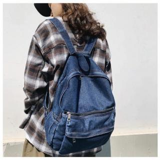 Dámský džínový batoh E934 Barva: tmavě modrá