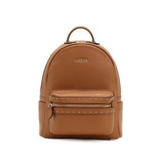 Dámský kožený batoh E921 Barva: hnědá