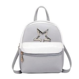 Dámský mini batoh E937 Barva: šedá