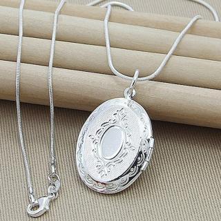 Dámský otevírací náhrdelník pro uložení fotky